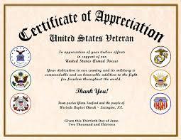 parent appreciation certificate template
