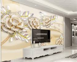 popular golden wall mural buy cheap golden wall mural lots from beibehang wallpaper for walls 3 d 3d fashion high fashion european golden rose leaves photo wall