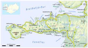 Iceland Map World Snæfellsnes Wikipedia