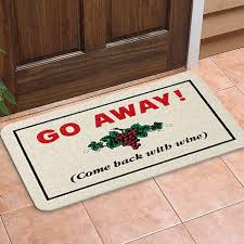 Come In And Go Away Doormat Creative Welcome Mats For Your Home