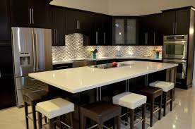 Kitchen Quartz Countertops Wonderful Modern Kitchen Quartz Countertops With White Counters