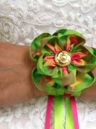 how to make a ribbon wrist corsage snapguide