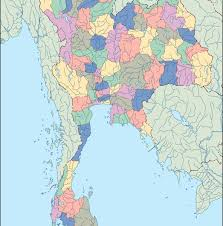 Thailand World Map by Thailand Blind Map Eps Illustrator Map Our Cartographers Have