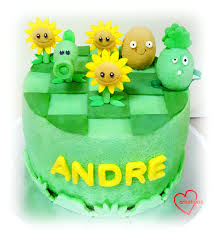 Plants Vs Zombies Cake Decorations Loving Creations For You U0027plants Vs Zombies U0027 Chiffon Cake