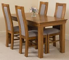 rustic oak dining table french chateau oak dining set 150cm 4 stanford chairs