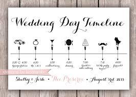 wedding day timeline clipart 75