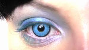 saw blue contact lenses youtube