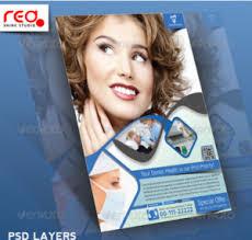 20 dentist clinic flyer templates u2013 design blog