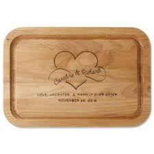 personalized wedding cutting board personalized wedding anniversary gift ideas lillian vernon