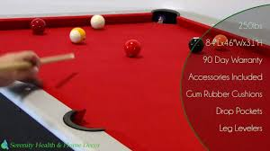 maverick 7ft pool table with table tennis top ng1023 youtube