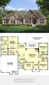 Craftsman Style Open Floor Plans Craftsman Style Lake House Plan With Walkout Basement Lake House