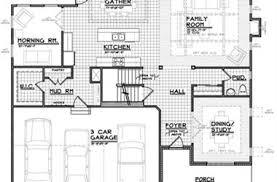 Sorrento Floor Plan The Sorrento Home Design New Homes Cristo Homes