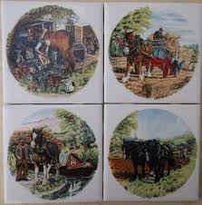 ceramic tiles with horse images foxhunt fox hunt clydedalr arabian