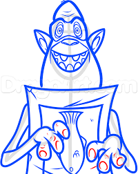 how to draw fish from the boxtrolls step by step characters pop