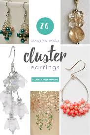 how to make cluster bead earrings 20 ways allfreejewelrymaking com