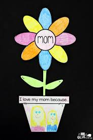 mother u0027s day flower gift a dab of glue will do