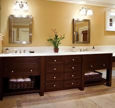 bathroom spacious bathroom vanity cabinets with silver edged