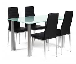 Global Furniture Dining Room Sets V Frosted Glass Dining Table 6 Cream Chairs 650 Frosted Glass