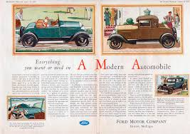 car ads in magazines directory index ford 1928