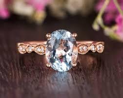 antique svan ring holder images Rose gold engagement ring etsy jpg