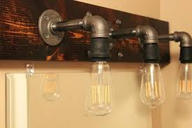 Bathroom Lighting Solutions Bathroom Light Fixtures Lowes Four Light Mix And Match Vanity