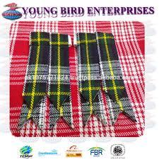 scottish kilt flashes royal stewart tartan garter sock