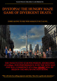 dystopia the hungry maze game of divergent death staughton college
