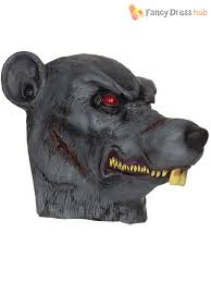 Zombie Dog Halloween Costume Zombie Animal Mask Adults Halloween Scary Fancy Dress
