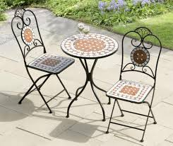 Large Bistro Table And Chairs Small Bistro Table With Outdoor Furniture Also Grass On The Garden