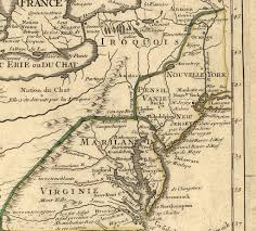 Erie Pennsylvania Map by 1710 U0027s Pennsylvania Maps