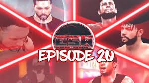esw episode 20 wwe 2k17 the return youtube