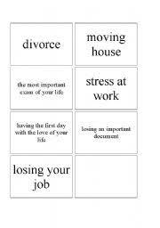 english teaching worksheets stress