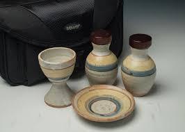 travel communion set travel home portable clay communion set