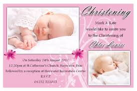 baptism invitations postcard style futureclim info