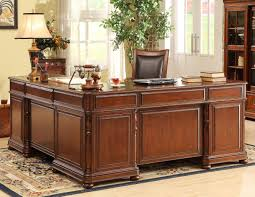 Large L Desk Large Cherry L Desk And Return By Riverside Furniture Wolf And