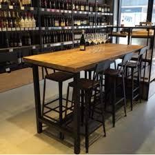 high table with bar stools tsbt001 csbc001 high bar stool chair table barstool solid wood
