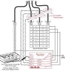 wattnode 208 240 vac 3 phase delta wye kwh transducer