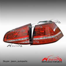 vw led tail lights vw golf mk7 led tail l vw golf 7 led tail lights 5g0945208 buy