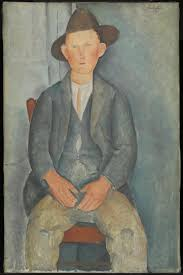 modigliani woman with a fan the little peasant amedeo modigliani c 1918 tate