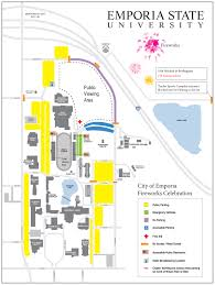 Kansas State Campus Map by News Article News Emporia State University
