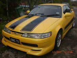 yellow toyota yassin70 1996 toyota corolla specs photos modification info at