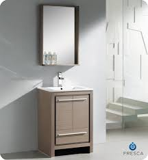Free Standing Bathroom Vanities by Fresca Allier 24