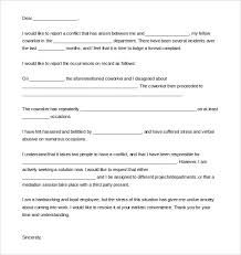 Formal Complaint Letter Against An Employee 12 complaint letter templates free sle exle format