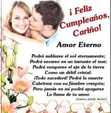 imagenes para mi esposa de cumpleaños palabras de cumpleaños para mi novia tarjetas de felicitación