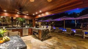 Outdoor Entertainment - anini vista photographic kauai property tour