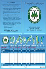mission hills of hayward golf course 510 888 0200