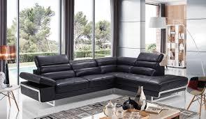 living room bolero web italian leather sectional sofa modern