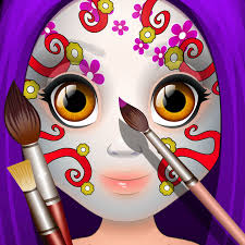 kids face paint makeup u0026 spa girls salon games on the app store