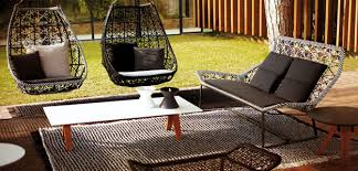 inspirations swing patio furniture with three seater patio swing