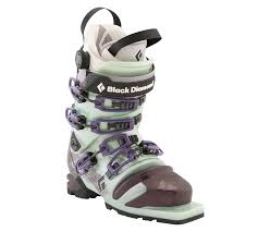 womens ski boots size 12 amazon com black stiletto ski boots s alpine